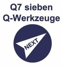ISO 9001 sieben Qualitätswerkzeuge Q7 Training